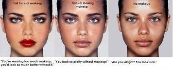 no makeup es funny esgram