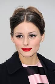 glam makeup at paris fashion week