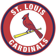 St Louis Cardinals Mlb Baseball Round Car Bumper Sticker 3 Or 5