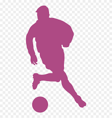 Football Player Sport Wall Decal Athlete Silhouettes Of Soccer Players Png Transparent Png 800x800 6910028 Pngfind