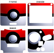 Pokemon Pokeball Classic Cool Skin Vinyl Sticker Cover Decal For Nintendo Gba Sp Ebay