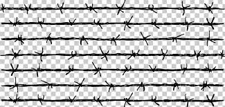 Barbed Wire Fence Png Clipart Adobe Illustrator Angle Black Encapsulated Postscript Fences Free Png Download