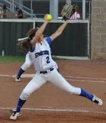 Alumni Ashlee Gibson to throw out the... - Centennial Softball   Facebook