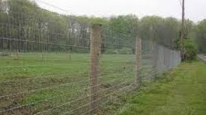 Stretching A Woven Wire Fence Youtube