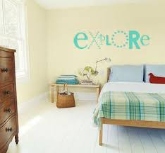 Simply Words Explore Beautiful Wall Decals
