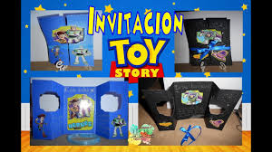 Invitacion Toy Story Buzz Lightyear Woody Youtube