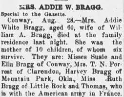 Obituary for Addie White BRACK (Aged 60) - Newspapers.com