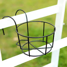 Hanging Flower Pot Stand Flower Pot Metal Holder Balcony Garden Decortion Flowerpot Round Racks Cross Planters Railing Fence Buy Products Online With Ubuy Sri Lanka In Affordable Prices 4000367480088