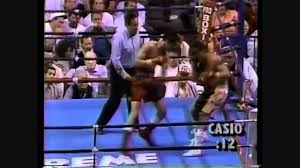Loreto Garza Vs Vinny Pazienza Rds 9 10 11 & Postfight - YouTube