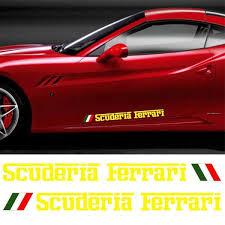 Product Ferrari Scuderia Motor Sports Decal Sticker