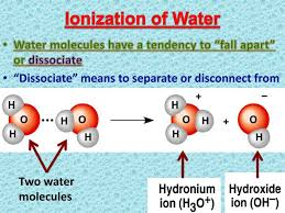 ppt ionization of water powerpoint