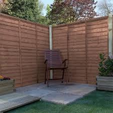 Adley 5 X 6 Pressure Treated Lap Fence Panel