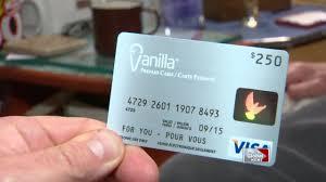 pre paid vanilla visa card troubles