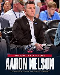 The Pelicans have hired Aaron Nelson as... - New Orleans Pelicans ...