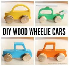 wood push car truck and helicopter