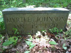 Myrtle Johnson (1919-1920) - Find A Grave Memorial