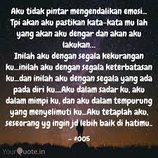 aku tidak pintar mengenda quotes writings by ari ariyanto
