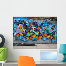 Graffiti Wall Decal Design 4 Wallmonkeys Com