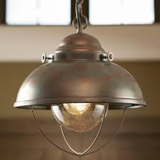 white river fisherman s pendant light
