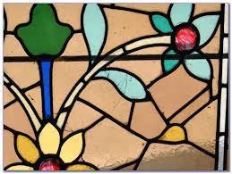 stained glass window kit home