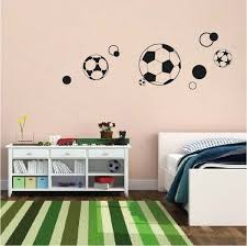 Soccer Ball Wall Stickers Trendy Wall Designs