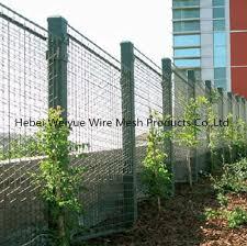 China 3mm Powder Coating Welded Wire Metal Mesh For Garden Fence China Welded Wire Mesh Panel Plant Climbing Net