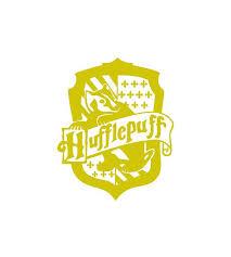 Harry Potter Hufflepuff Crest Vinyl Decal Car Laptop Etsy