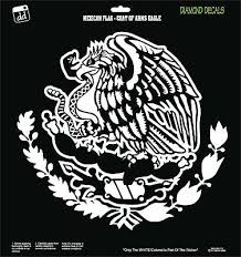 Mexican Eagle Snake Flag Coat Of Arms Design Vinyl Decal Sticker Car Window New Ebay