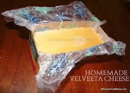 homemade velveeta cheese recipes for
