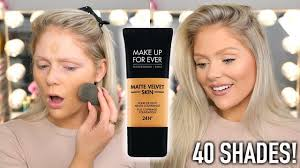 new makeup forever matte velvet skin