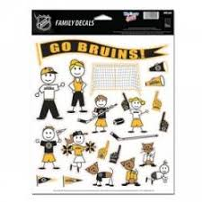 Boston Bruins Stickers Decals Bumper Stickers