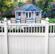 Bexley 6x6 Closed Top Vinyl Fence Kit Vinyl Fence Freedom Outdoor Living For Lowes