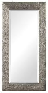 metallic silver wavy stripe full length