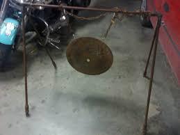 homemade gong