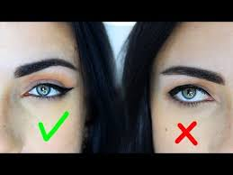eyeliner for droopy downturned eyes