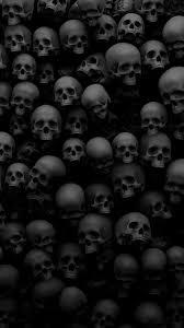 skull iphone wallpapers top free