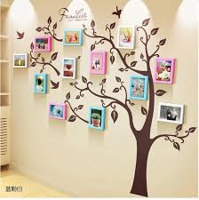 Unique Family Tree Photo Frame And Decal Ellaseal