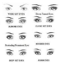 apply eye makeup for wide set eyes