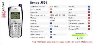 Sendo J520 ...