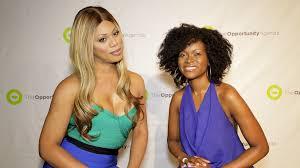 Laverne Cox and Abiola Abrams | Laverne Cox and Abiola Abram… | Flickr