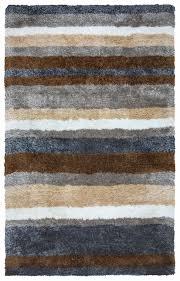 commons multi stripe pattern area rug