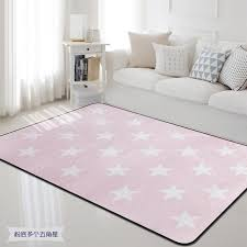 100x150cm Nordic Pink White Star Carpet Rug Thick Soft Kids Room Children Play Area Mat Rectangle Carpet For Living Room Bedroom Carpet Online Carpets For Less From Hobarte 31 79 Dhgate Com