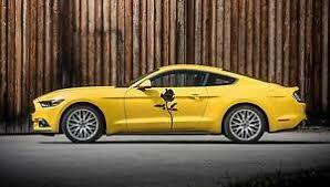 Rose Flower Side Door Car Decal Race Sports Grpahics Wrap Sticker Truck Van B63 Ebay