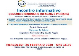 CONCORSO ORDINARIO INFANZIA E PRIMARIA: LA PUBBLICAZIONE DEL BANDO ...
