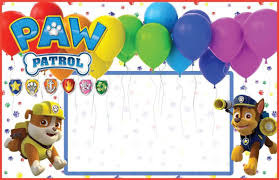 How To Decorate A Paw Patrol Birthday Birthday Fm Home Of