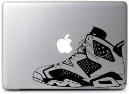 Amazon Com Air Jordan No 6 Retro Shoes Decal Sticker Skin Die Cut Vinyl Decal For Windows Cars Trucks Tool Boxes Laptops Macbook Virtually Any Hard Smooth Surface Automotive