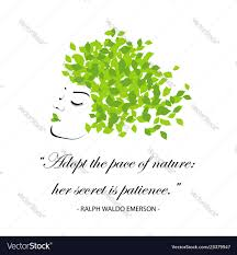 quotes for nature royalty vector image vectorstock
