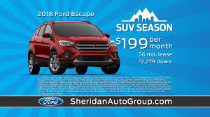 october s event sheridan ford