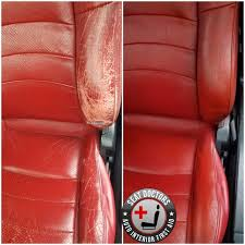 automotive leather dye before
