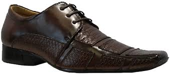 mens faux leather shoes smart wedding